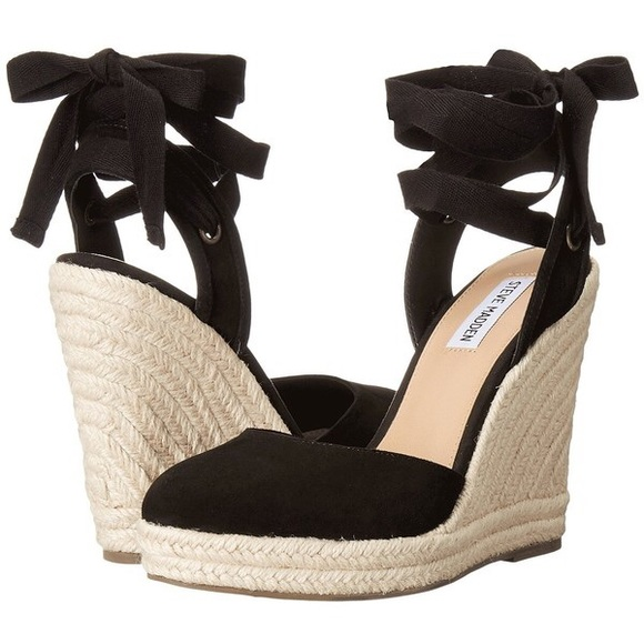 3a82da6cb94 Steve Madden Barre Espadrille Platform Wedge US 10.  M 5a5647f0331627d32300d3ad. Other Shoes ...